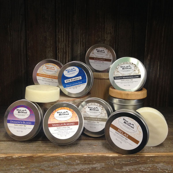Wild Mountain Solid Lotion Bars