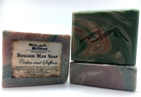 Cedar and Saffron Rugged Man Soap