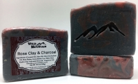Rose Clay & Charcoal Soap Bar